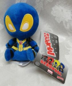 Funko-Mopeez-Marvel-Blue-Deadpool-X-Men-Plush-14-NWT-Travel-Buddy