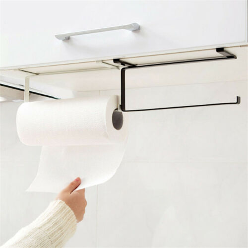 Newly Toilet Paper Holder Bathroom Suction Hanger Tissue Rack Kitchen Towel Hook