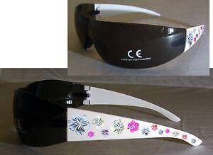 Design Sonnenbrille Extra Cool im Blüten - Design Hibiskus im Beutel