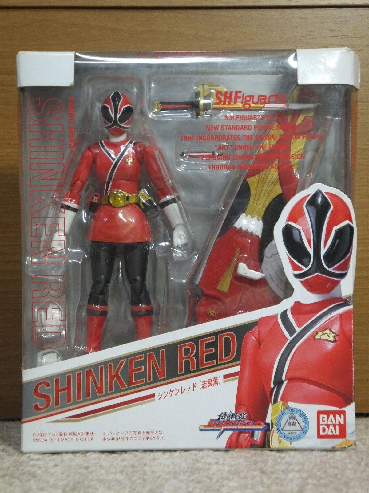 Power Rangers SAMURAI Shinkenger S.H.Figuarts SHINKEN rosso Female LTD Bandai