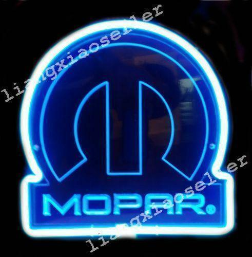 Mopar Car Parts Chrysler 3D Acrylic Beer Bar Pub Store Neon Light Sign FAST SHIP