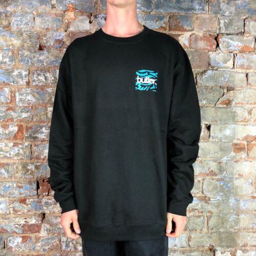 Black in Size S,XL Buttergoods Crew Sweatshirt Pullover Jumper