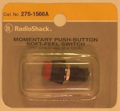 SPST 125VAC//3A Illuminated Pushbutton Switch RadioShack