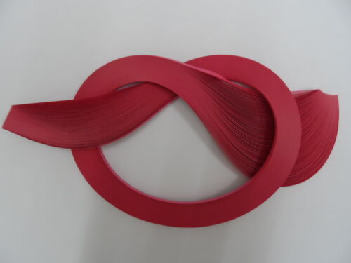 Quilling Paper 3mm Crimson 100 strips
