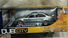 BMW ACSchnitzer S3 sport M3 die cast Euro Spec Dub City JADA 1:18 New In The Box