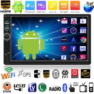 7-039-039-DIN-Android8-1-Autoradio-Bluetooth-MP5-Player-GPS-Touchscreen-Stereo-FM-Radio