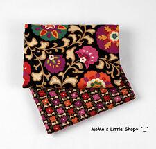 Beautiful Vera Bradley 100% Cotton Fabric (Suzani) —— 2 Matching Fat Quarters