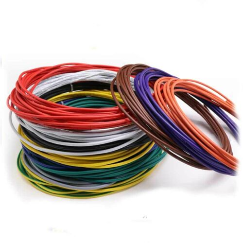 12AWG 24AWG Stranded UL1015 Auto Electrical Equipment Wire Cable 600V 105°C
