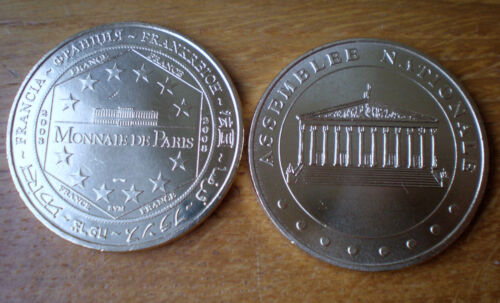 France French National Assembly Politic Medal By Monnaie de Paris 2008 France