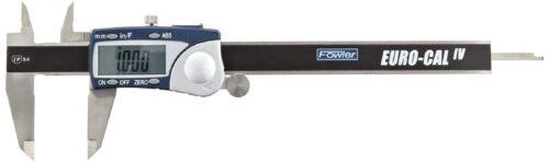 54-100-330-1, Fowler Full  Stainless Steel Frame Euro-Cal Iv Electronic Caliper