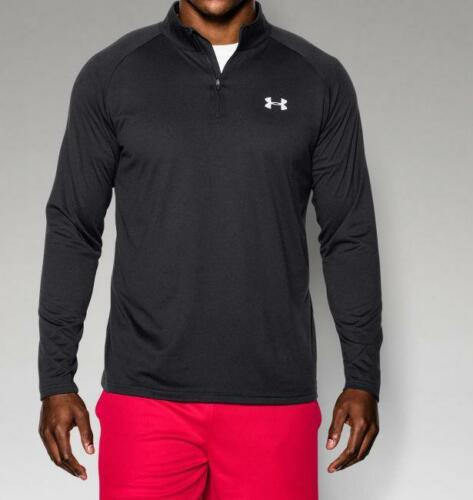 Under Armour Men/'s UA Tech 1//4 Zip Shirt 1242220-003 Black