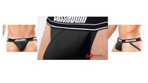 New-WonderJock-Air-WJ-Air-Black-Aussiebum-Jockstrap-in-S-M-L-amp-XL