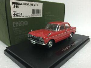 1-43-EBBRO-44237-NISSAN-PRINCE-SKYLINE-GTB-1965-RED-model-car
