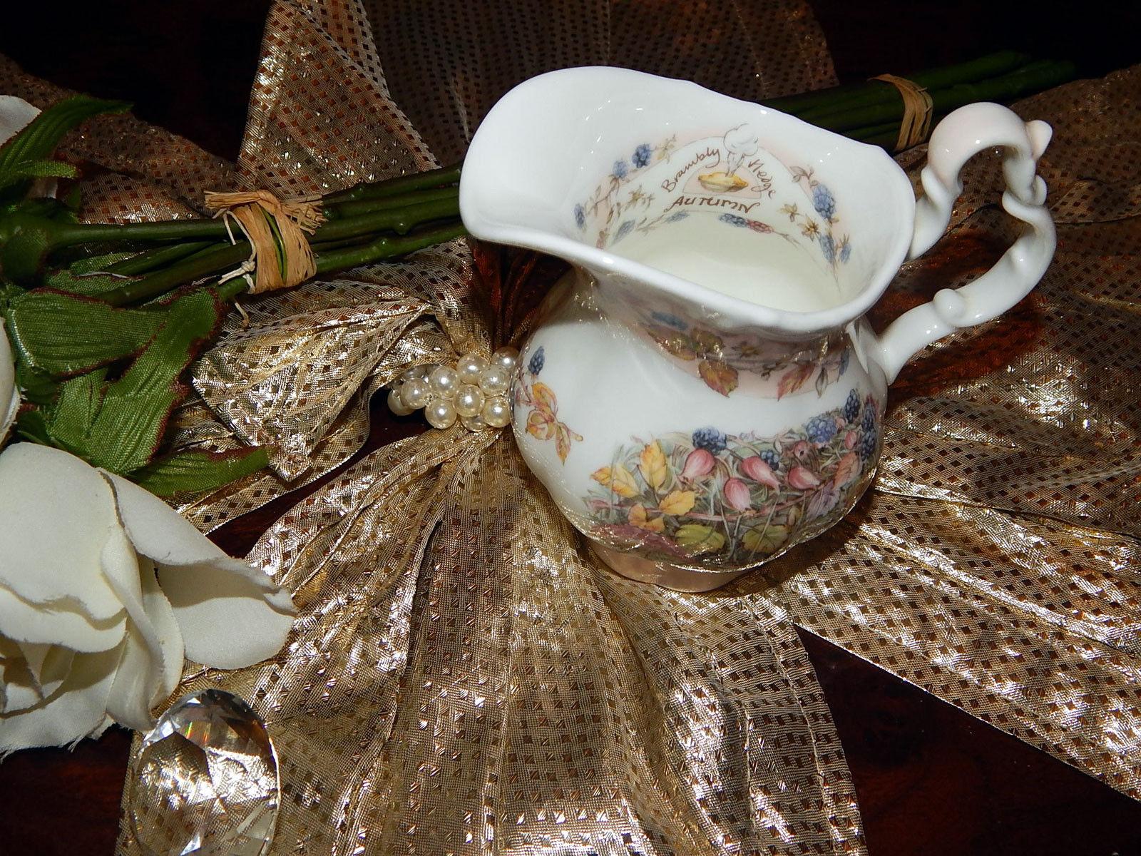 Noble grand pot 0,3 L Brambly Hedge Autumn Design Jill Barklem NEUF