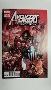 AVENGERS-THE-CHILDREN-039-S-CRUSADE-9-1st-Printing-2012-Marvel-Comics