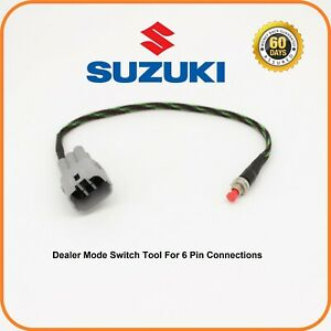 Details about SUZUKI Dealer Mode Switch 6 pin GSXR 600 750 1000 M109R M90  Hayabusa GSX-S1000