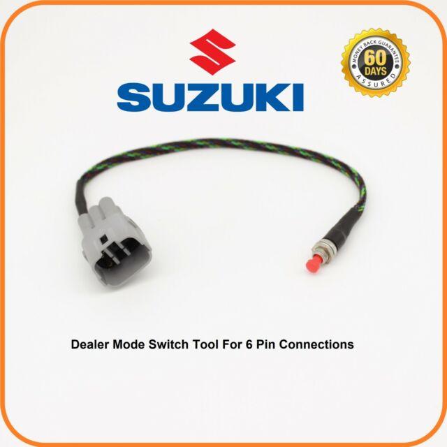 Suzuki Gsx-r 600 750 1000 GSXR Hayabusa OEM Dealer Mode Fi Code Light Switch