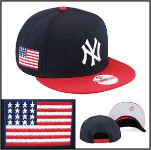 timeless design fdc04 c51f4 New Era New York Yankees Snapback Hat Navy Red USA jordan 6 7 ...