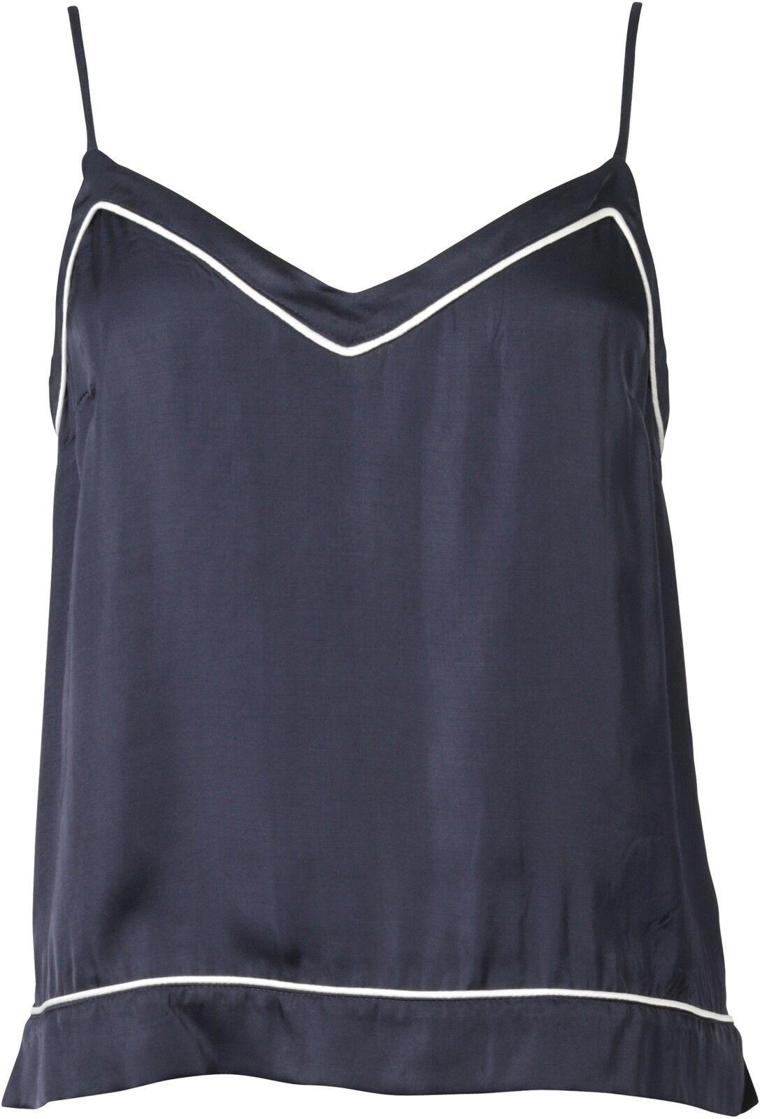 Nikkie Camisole Top Navy pyjama look taille 38 neu68481
