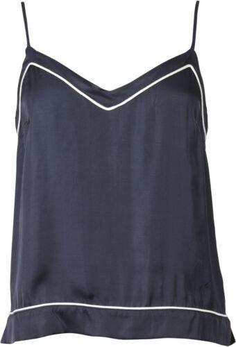 Nikkie Top Camisole Gr Pyjama 68482 40 Navy Neu Look w76qwrU5H