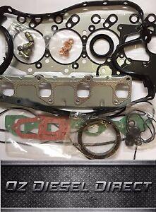 4JB1 4JA1 Metal ISUZU DIESEL Engine Head Gasket Kit Z-5-87810-457-2