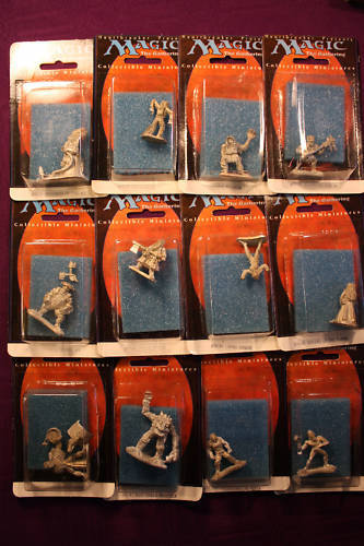 MTG Miniature Pewter SET 12 PIECES 4TH 4TH 4TH RELEASE FREE SHIPPING dcccbf