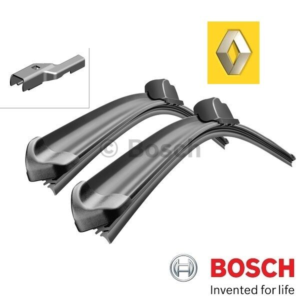 Set 2 Balais Bosch Avant Renault Twingo II 1.2 Tce 100 75KW