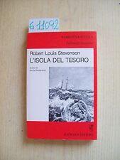 ROBERT L. STEVENSON - L'ISOLA DEL TESORO - LOESCHER EDITORE - 1987