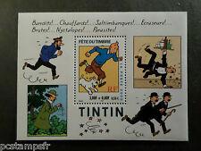 FRANCE 2000, BLOC timbre n° 28, TIN TIN MILOU FETE TIMBRE, neuf**, COMICS STAMP