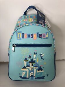 2020 Funko Disneyland Resort 65th Anniversary Mini Backpack Castle w/ Tinkerbell
