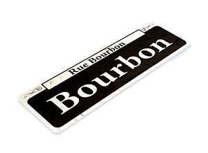 TIN-SIGN-Bourbon-Street-Rustic-New-Orleans-Shop-Market-French-Quarter-A866
