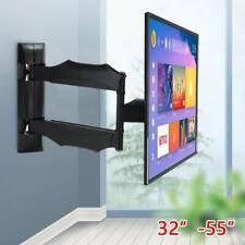 X4  TV Wandhalterung,  Schwenkbar Neigbar für 32-55 Zoll Fernseher  schwarz