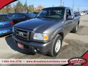 2011 Ford Ranger 5-SPEED MANUAL SPORT-EDITION 5 PASSENGER 4.0L - V6
