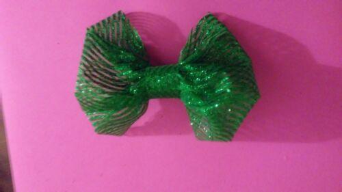 Patricks Day hair Bow St Shamrock Hair Bow Hair Bow Clover Bow