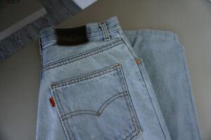 Levis-Levi-039-s-727-Herren-Jeans-Hose-30-32-W30-L32-stonewashed-used-blau-ab36