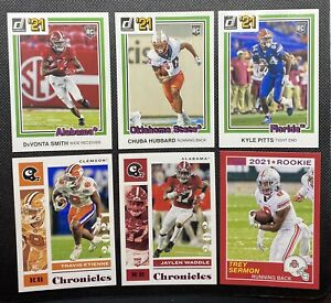 2021 Panini Chronicles Draft Picks Rookie Lot Of 12 Cards (Pink Parallel) SP