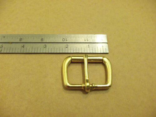 "1 1//2/"" Solid Brass End Bar Roller Buckles"