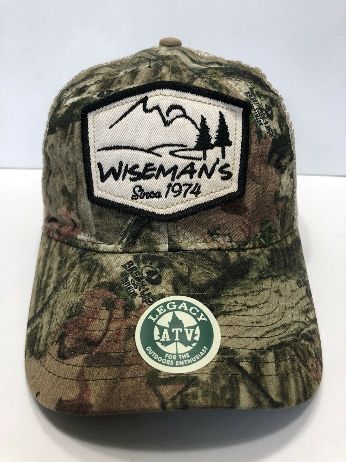 b8094dd1159 ... wholesale wisemans since 1974 hunter cap cotton hat trucker camo  snapback cotton cap polyester 81c43d c6f0a