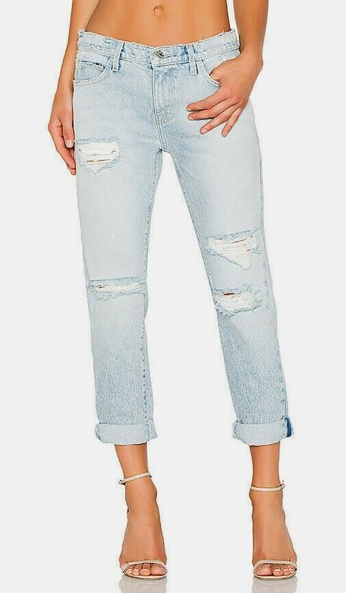 Current Elliott the Fling Jeans in Alta Destroy Size 26 NEW