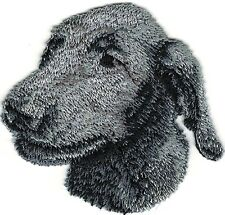 "2 1//2/"" Irish Soft Coated Wheaten Dog Breed Portrait Embroidery Patch"