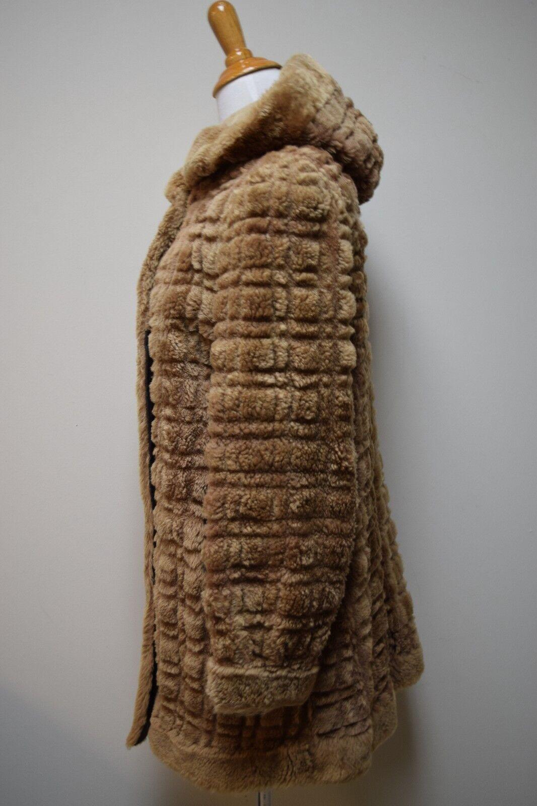 VINTAGE 1930s/40s Sheared Fur Mouton Skating Skii… - image 6