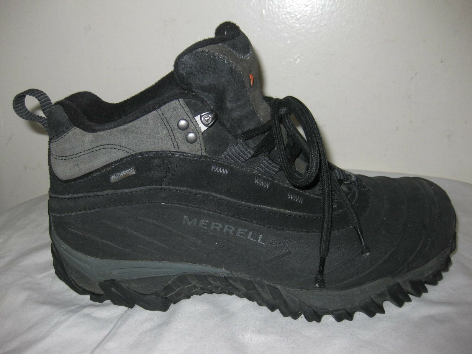 Merrell Isotherm 6  Waterproof Black   Shadow Boots  MenSs shoes Size 43.5  9.5