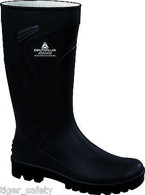 Delta Plus Panoply Joucas Black PVC Waterproof Outdoor Wellington Boots Wellies
