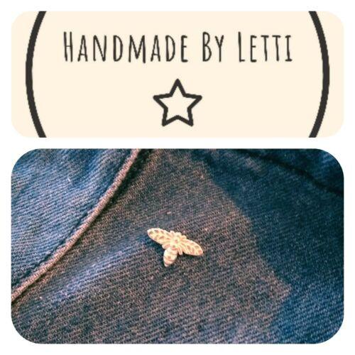 Little Bee Pin Badge