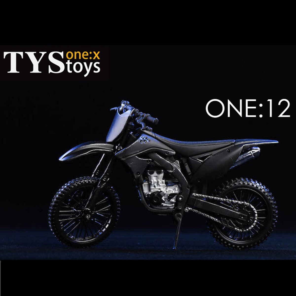 TYSTOYS 18DT05 1 12 Scale Motorcycle Model for 1 12 Action Figure