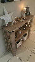 1m Beach House/rustic/hamptons Style Console/hall/entrance Table/sideboard