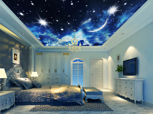 3D Starlight 53 Ceiling WallPaper Murals Wall Print Decal Deco AJ WALLPAPER AU