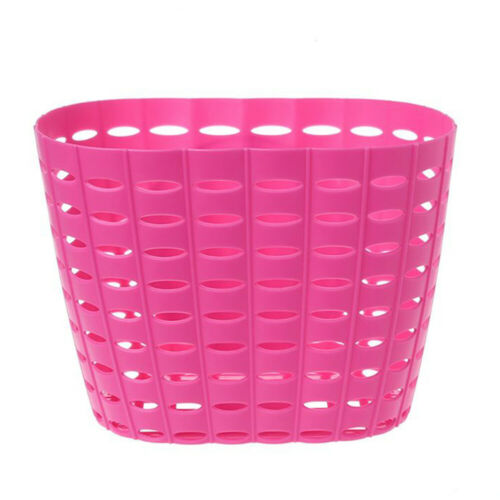 Kids Girls Boys Bike Front Bicycle Cycle Shopping Portable Basket For Bikes