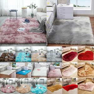 Shaggy-Fluffy-Hairy-Area-Rugs-Bedroom-Living-Room-Carpets-Home-Decor-Floor-Mats
