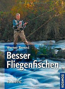 Besser-Fliegenfischen-von-Werner-Berens-Buch-Zustand-gut